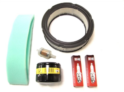 Briggs and Stratton Vanguard Engine Full Service Kit (Air, Fuel, Oil Filters  Spark Plugs)